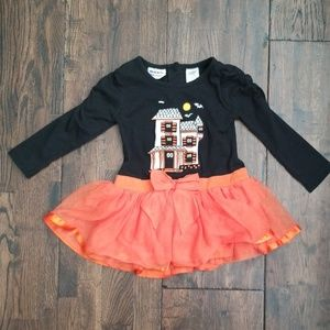 Girls Halloween Outfit Spooky Size 2T